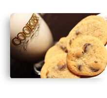Cookies & Milk Canvas Print