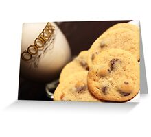 Cookies & Milk Greeting Card