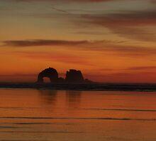 Twin rocks, Oregon by Hannah Fenton-Williams