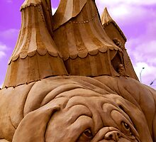"""Sculptures in sand""  by Sophie Lapsley"