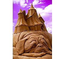 """Sculptures in sand""  Photographic Print"