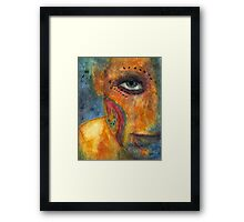 """Angry"" Framed Print"