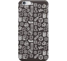 Board Game Pieces – Inverted iPhone Case/Skin