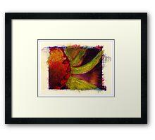 """""""Water Color Flower"""" Framed Print"""