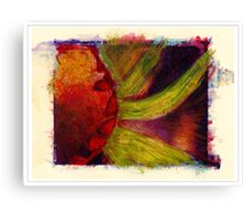 """Water Color Flower"" Canvas Print"