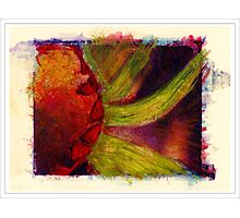 """Water Color Flower"" Photographic Print"