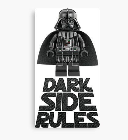 Dark side lego Canvas Print