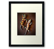 """""""Gecko Love"""" Framed Print"""