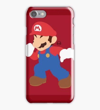 Mario - Super Smash Bros. iPhone Case/Skin