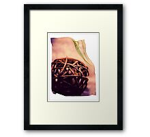 """Wicker Ball"" Framed Print"