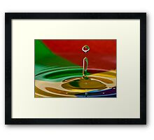 Beach Ball Fun Framed Print