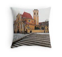 Carmelite church Throw Pillow