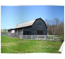 Tennessee Barn Poster