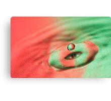 Eye Drop Canvas Print