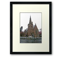 Full Gospel (Korean) church, Hobart Framed Print