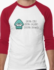 Splatoon Fresh Shirt (Turquoise) Men's Baseball ¾ T-Shirt