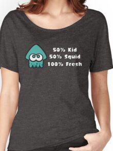 Splatoon Fresh Shirt (Turquoise) Women's Relaxed Fit T-Shirt