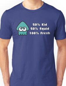 Splatoon Fresh Shirt (Turquoise) Unisex T-Shirt