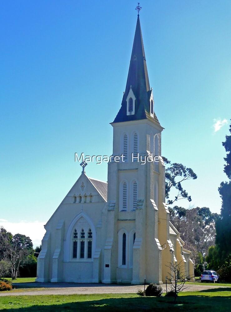 St Andrews Church, Evandale, Tasmania by Margaret  Hyde