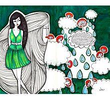 Sketch 5 ... yiwen vs. mario Photographic Print
