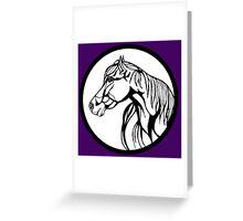 Sharpie Horses: Annie Greeting Card