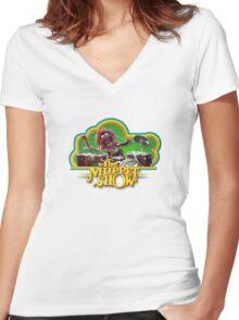 Animal Alternative Women's Fitted V-Neck T-Shirt