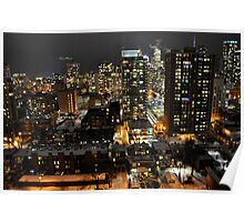 Downtown Toronto -15 Poster