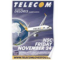 Telecom at the Northcote Social Club 2006 11 24 Poster