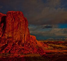 Fire In The Valley  by Melissa Seaback