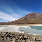 Blue Lake Bolivia by Ken Griffiths