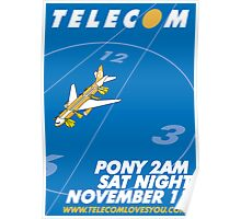 Telecom play the Pony 2AM Slot 2006 11 11 Poster