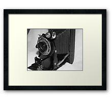 Old Brownie Camera Framed Print