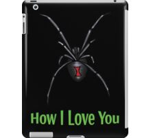 How I Love You iPad Case/Skin