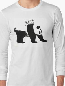Negative Panda Long Sleeve T-Shirt
