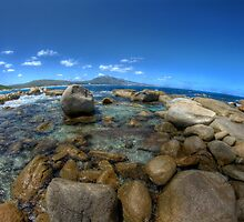 Rocks at Bettys beach by BigAndRed