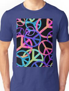 hipster peace signs Unisex T-Shirt