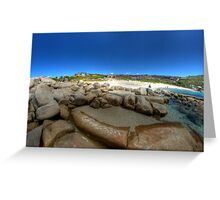 Bettys Beach, WA Greeting Card