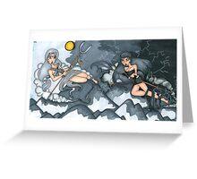 Crashing Storms Greeting Card