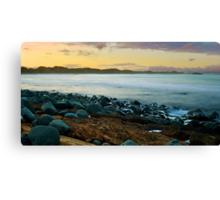 Saltwater sunset Canvas Print