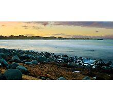 Saltwater sunset Photographic Print