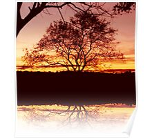 Reflections at Days End Poster