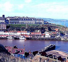 Whitby Harbour. by sweeny