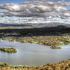 I Love Her Far Horizons (25 Exposure HDR Panorama) Canberra,Australia - The HDR Experience by Philip Johnson