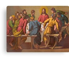 The Last Supper.  [after Raphael.] Canvas Print
