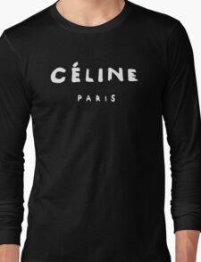 CELINE PARIS  Long Sleeve T-Shirt