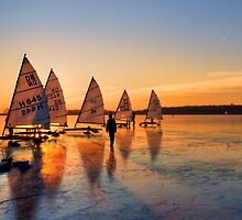 Ice Sailing by Hetty Mellink