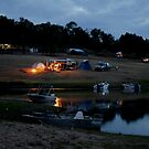 Camping on the Shores of Lake Boondooma by aussiebushstick