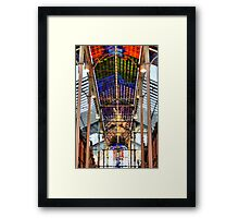 Coloured Light. Framed Print