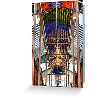 Coloured Light. Greeting Card