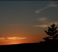 Sunset - Gillette Castle by LaineyDesign